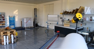 Showroom erweitert mit Verpackungsgeräten und Verpackungsmaschinen